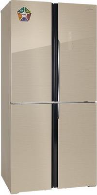 Многокамерный холодильник Hiberg RFQ-490 DX NFGY холодильник hiberg rfq 490dx nfxq