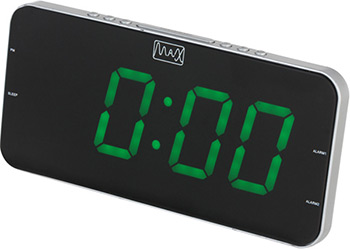 Радиобудильник MAX CR-2909 max cr 2905g black green радиобудильник