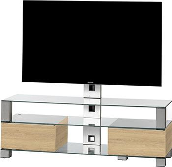 Стойка Sonorous MD 8143-C-INX-LOAK sonorous md 8140 стойка для телевизора до 60