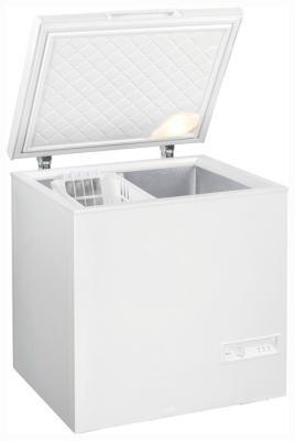 Морозильный ларь Gorenje FH 21 BW мультиварка delonghi fh 1394 2300 вт 5 л белый черный