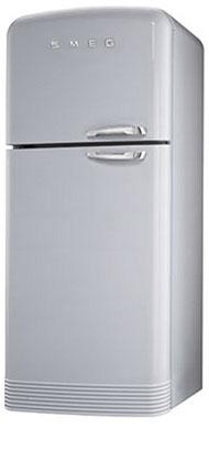 Двухкамерный холодильник Smeg FAB 50 XS