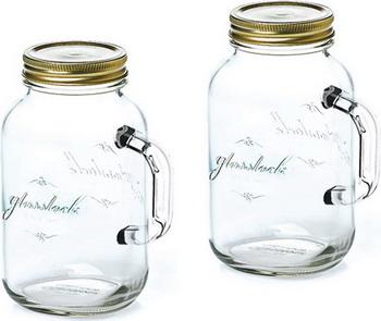 Набор банок Glasslock IG-753 glasslock банка glasslock ig 753 с крышкой и ручкой 2 500мл