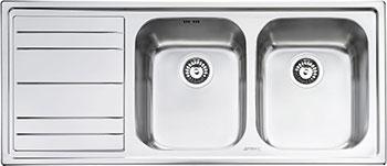 Кухонная мойка Smeg LE 116 S-2 кухонная мойка smeg lgm 861 s 2