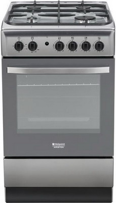 Газовая плита Hotpoint-Ariston H5GG 1C (X) RU hotpoint ariston lfta 5h1741 x