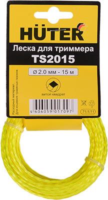 купить Леска Huter TS 2015 (витой квадрат) 71/1/11 дешево