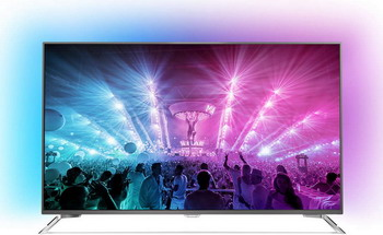 4K (UHD) телевизор Philips 55 PUS 7101 телевизор philips 48pft6300