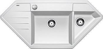Кухонная мойка BLANCO LEXA 9E SILGRANIT белый  blanco lexa 9 e аллюметаллик