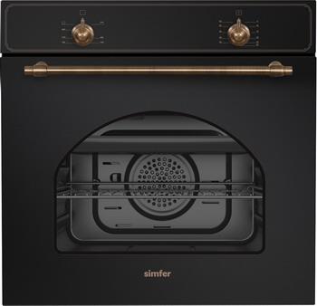 Встраиваемый газовый духовой шкаф Simfer B6GL 12011 встраиваемый газовый духовой шкаф simfer b6gm12011