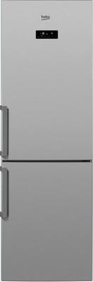 Двухкамерный холодильник Beko RCNK 321 E 21 S холодильник beko rcnk365e20zx двухкамерный нержавеющая сталь