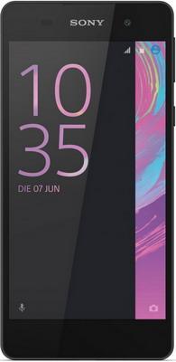 Мобильный телефон Sony Xperia E5 черный sony xperia e5 f3311 white