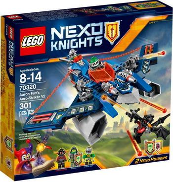 Конструктор Lego Nexo Knights Аэроарбалет Аарона 70320 конструктор lego nexo knights вездеход аарона 4x4 70355