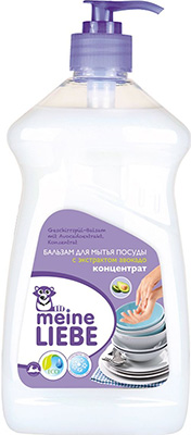 Бальзам для мытья посуды Meine Liebe с экстрактом авокадо концентрат 485 мл ML 32205 бытовая химия aos средство для мытья посуды глицерин 500 мл