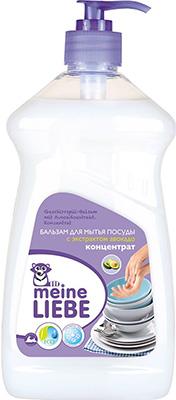 Бальзам для мытья посуды Meine Liebe с экстрактом авокадо концентрат 485 мл ML 32205 экологичная бытовая химия meine liebe
