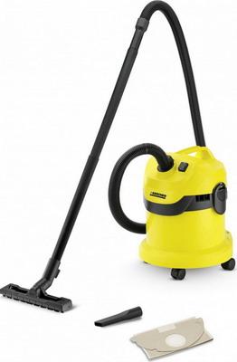 Строительный пылесос Karcher WD 2 желтый строительный пылесос karcher wd 4 premium желтый