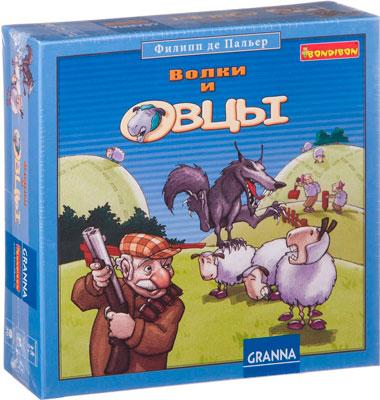 Настольная игра Bondibon ВОЛКИ и ОВЦЫ (новое издание) bondibon