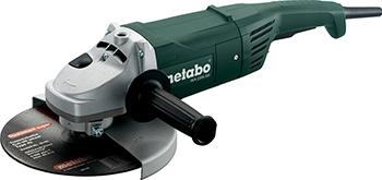 Угловая шлифовальная машина (болгарка) Metabo W 2200-230 600335000 машина шлифовальная угловая metabo w 2000