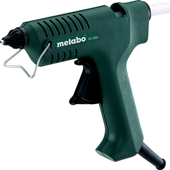 Клеевой пистолет Metabo KE 3000 618121000 пистолет клеевой metabo ke 3000 200вт 11мм