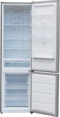 Двухкамерный холодильник Shivaki BMR-2013 DNFX холодильник shivaki bmr 2013dnfw двухкамерный белый