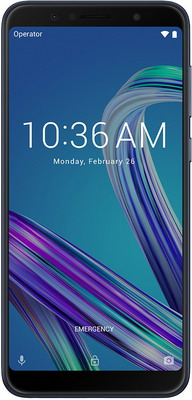 Мобильный телефон ASUS ZenFone Max Pro M1 ZB 602 KL 3/32 GB (90 AX 00 T1-M 00050) черный сотовый телефон asus zenfone max m1 zb555kl 16gb