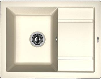 Кухонная мойка Florentina Липси-660 660х510 жасмин FS florentina липси 660 чёрный
