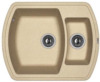 Кухонная мойка Florentina Нире-630 К бежевый FG мойка florentina нире 480 грей