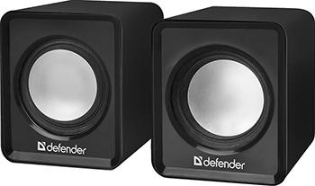 Акустическая система 2.0 Defender SPK 22 черный 65503 колонки defender spk 22 2x2 5вт черный 65503