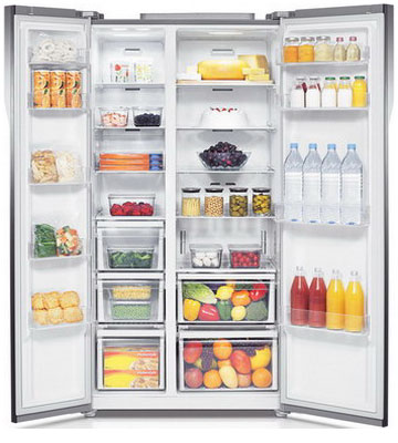 Холодильник Side by Side Samsung RS 552 NRUA1J холодильник side by side samsung rs 552 nrua9m wt