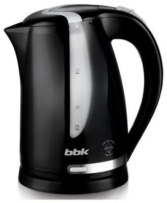 Чайник электрический BBK EK 1708 P черный/серебро стоимость