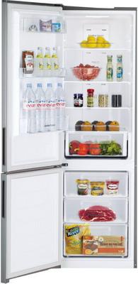 Двухкамерный холодильник Daewoo RNV 3310 ECH серебро холодильник daewoo fgk51efg двухкамерный серебристый