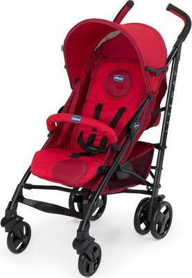 Коляска Chicco Lite Way Top stroller Red (с бампером) 04079328700000 chicco lite way top отзывы
