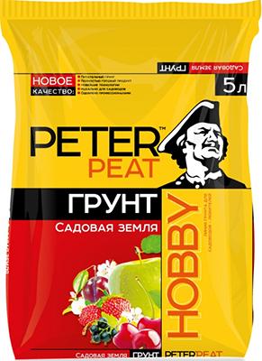 Грунт PETER PEAT Садовая земля линия ХОББИ 5л грунт лакра parade putzgrund 2 5л