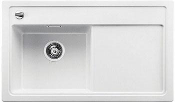 Кухонная мойка BLANCO ZENAR 45 S (чаша слева) белый с кл.-авт. InFino кухонная мойка blanco zenar 45 s f правосторонняя белый