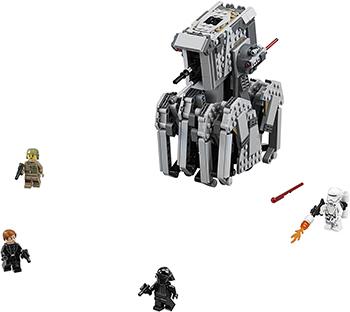 Конструктор Lego STAR WARS Тяжелый разведывательный шагоход Первого Ордена 75177-L конструктор бумажный star wars blueprints escape pod desert pack более 30 деталей
