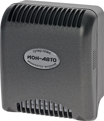 Электронный ионизатор воздуха Супер-плюс ИОН-АВТО электронный ионизатор воздуха супер плюс авто серый