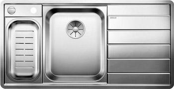 Кухонная мойка BLANCO AXIS III 6S-IF (чаша слева) нерж.сталь зеркальная полировка с кл. авт 522105 кухонная мойка blanco axis iii 6s if чаша слева нерж сталь зеркальная полировка с кл авт 522105