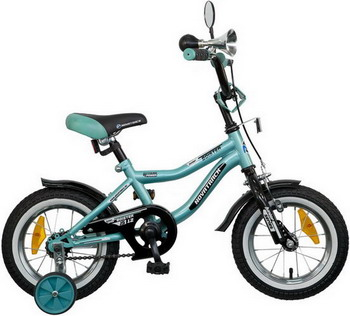 Велосипед Novatrack 12 BOISTER зеленый 125 BOISTER.GN5 детский велосипед для мальчиков novatrack boister х52491 blue
