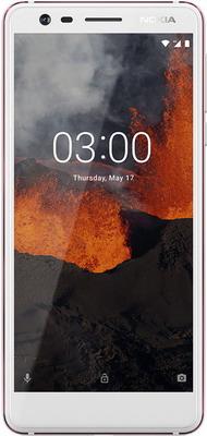 Смартфон Nokia 3.1 Dual Sim белый