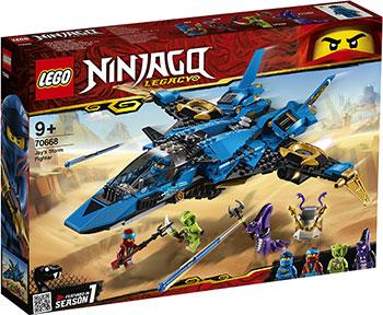 Конструктор Lego Штормовой истребитель Джея 70668 Ninjago Legacy конструктор lego земляной бур коула 70669 ninjago legacy
