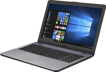 Ноутбук ASUS X 542 UF-DM 264 T i3-8130 U (90 NB0IJ2-M 07990) Dark Grey uni t ut33a 2 lcd digital voltage current measurement multimeter red dark grey 2 x aaa