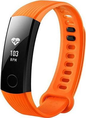 Браслет Honor Band 3 модель NYX B 10 Orange v6 fashion hour marks round dial quartz pu band wrist watch black orange