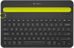 Клавиатура Logitech Wireless Bluetooth Multi-Device Keyboard K 480 (920-006368) universal dechatable bluetooth keyboard w touchpad
