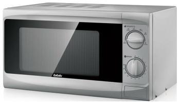 Микроволновая печь - СВЧ BBK 20 MWS-707 M/S серебро bbk bs05 салатовый серебро