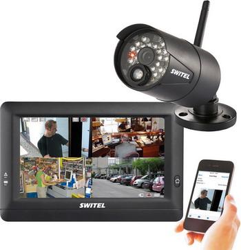 Комплект видеонаблюдения Switel HSIP 5000 черная детские весы switel bh700