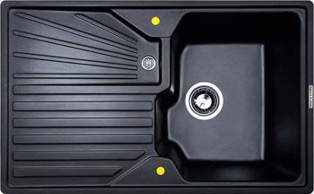 Кухонная мойка Zigmund amp Shtain KASKADE 800 черный базальт