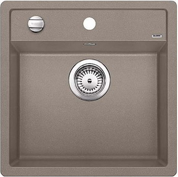 Кухонная мойка BLANCO DALAGO 5 SILGRANIT серый беж с клапаном-автоматом blanco metra 6 silgranit серый беж с клапаном автоматом