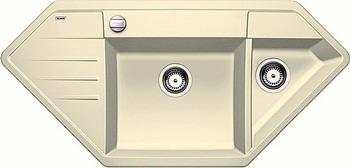Кухонная мойка BLANCO LEXA 9E SILGRANIT жасмин  blanco lexa 9 e аллюметаллик
