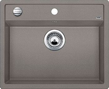 Кухонная мойка BLANCO DALAGO 6 SILGRANIT серый беж с клапаном-автоматом  мойка dalago 6 f white 514771 blanco
