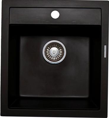 Кухонная мойка LAVA Q.1 ( чёрный металлик)
