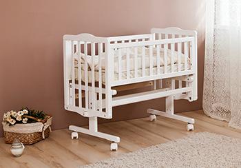 Детская кроватка Можга Красная Звезда Софьюшка С852 белая
