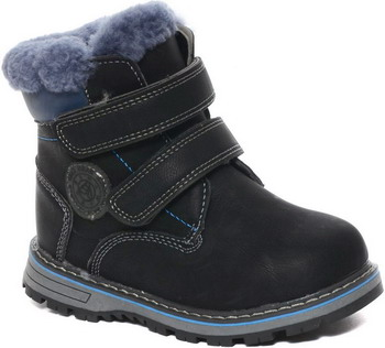 Ботинки Канарейка K 2210-1 р. 31 черные ботинки jack wolfskin ботинки mtn attack 2 texapore mid k